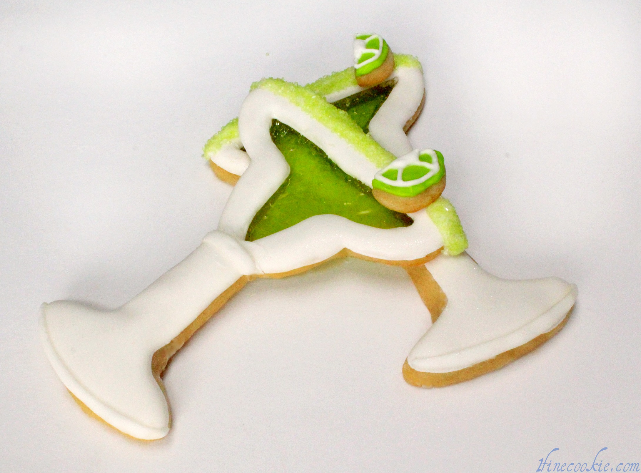 Margarita Martini And Beer Glass Cookies Kickoff The