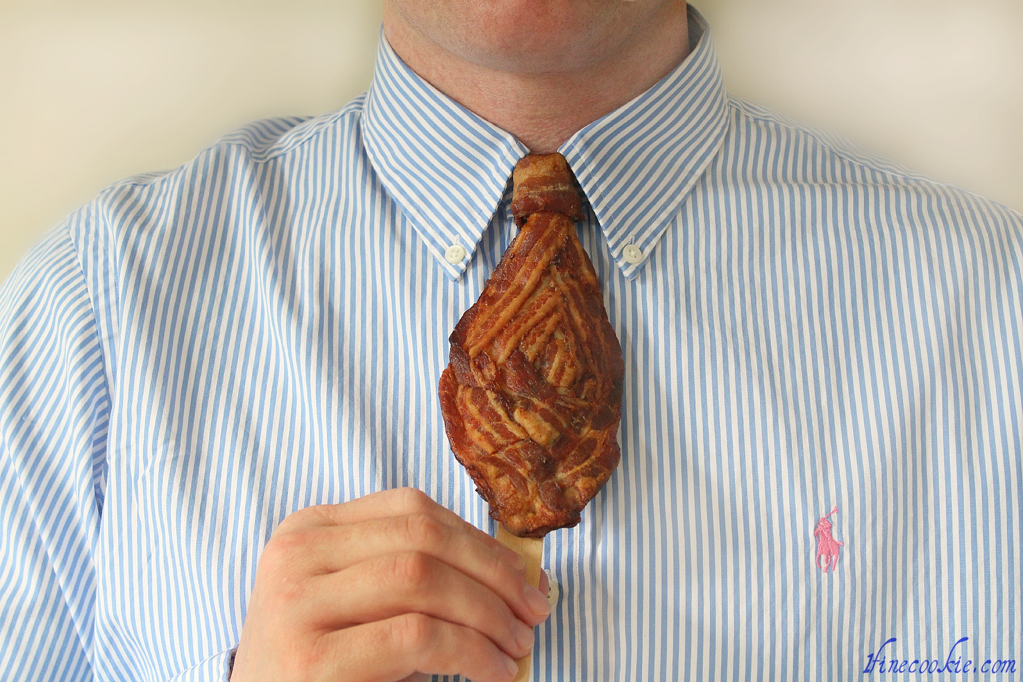 Bacon Mustache And Tie For Breakfast Make Dad Wear And