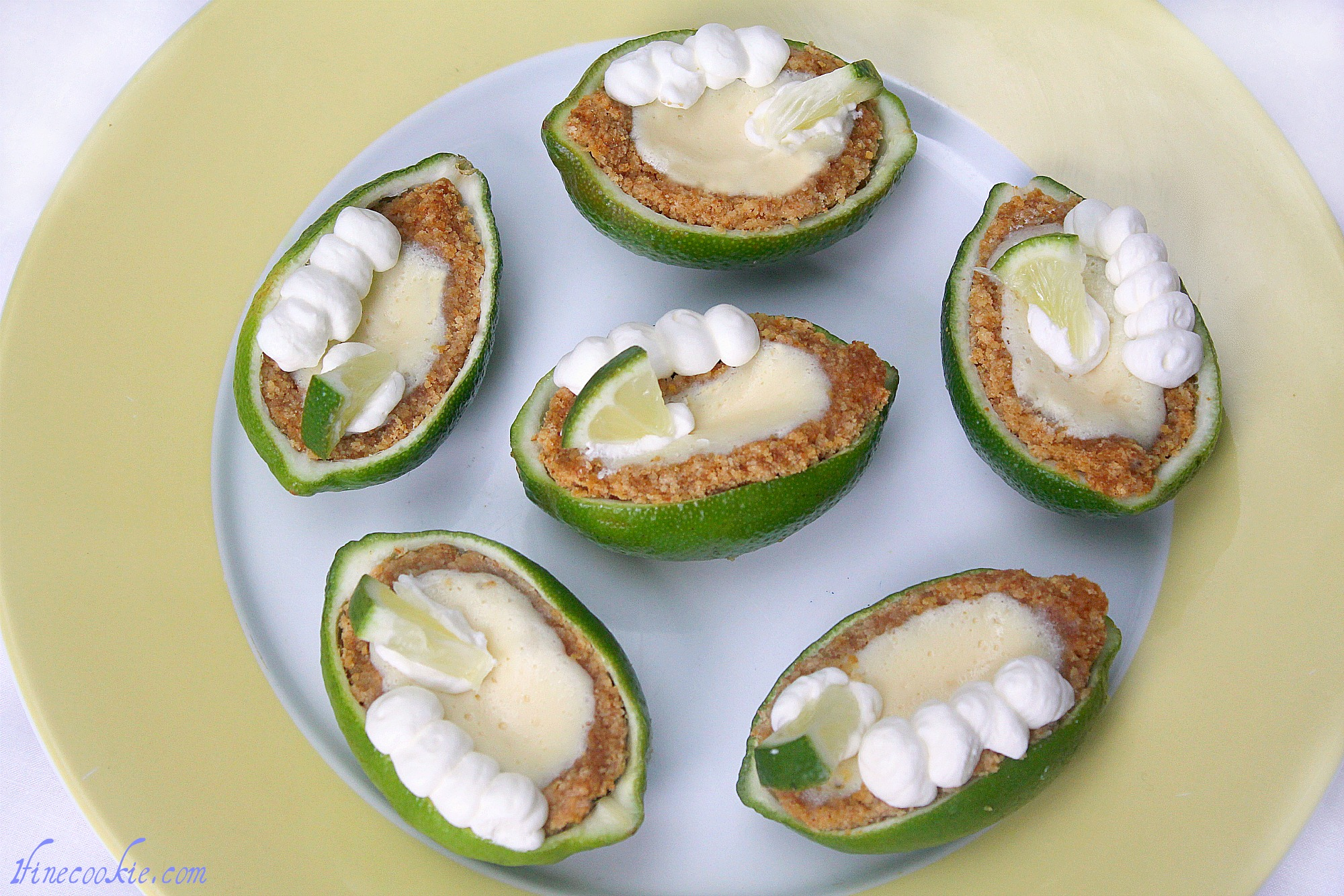 Margarita Pies with Salted Graham Crusts, Topped with Alcohol Whipped ...