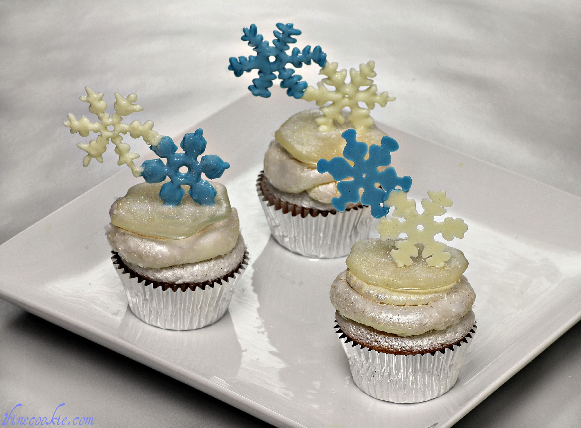 Winter Wonderland Cupcakes Happy Christmukkah Or