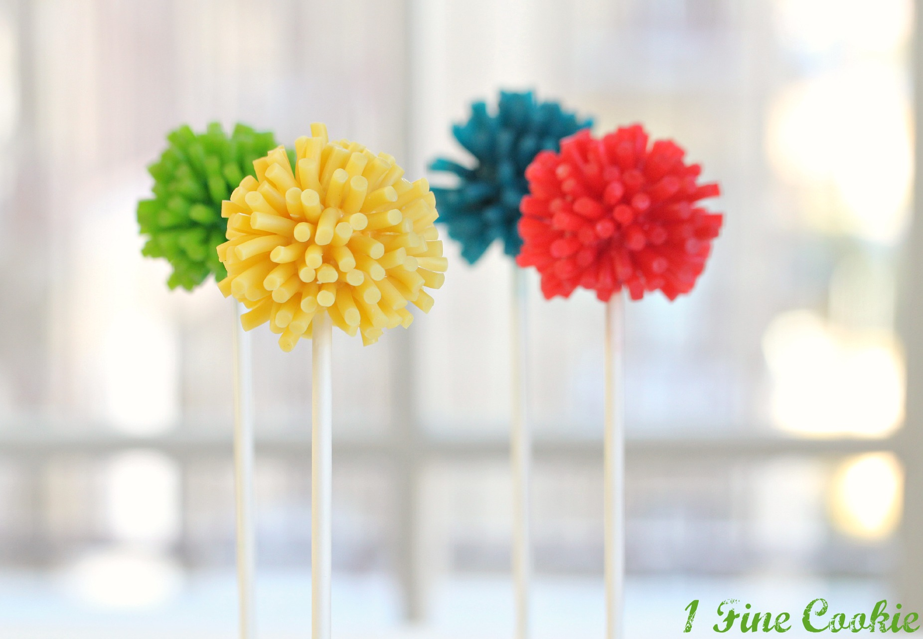 Edible Pom Pom Cake Pops 1 Fine Cookie