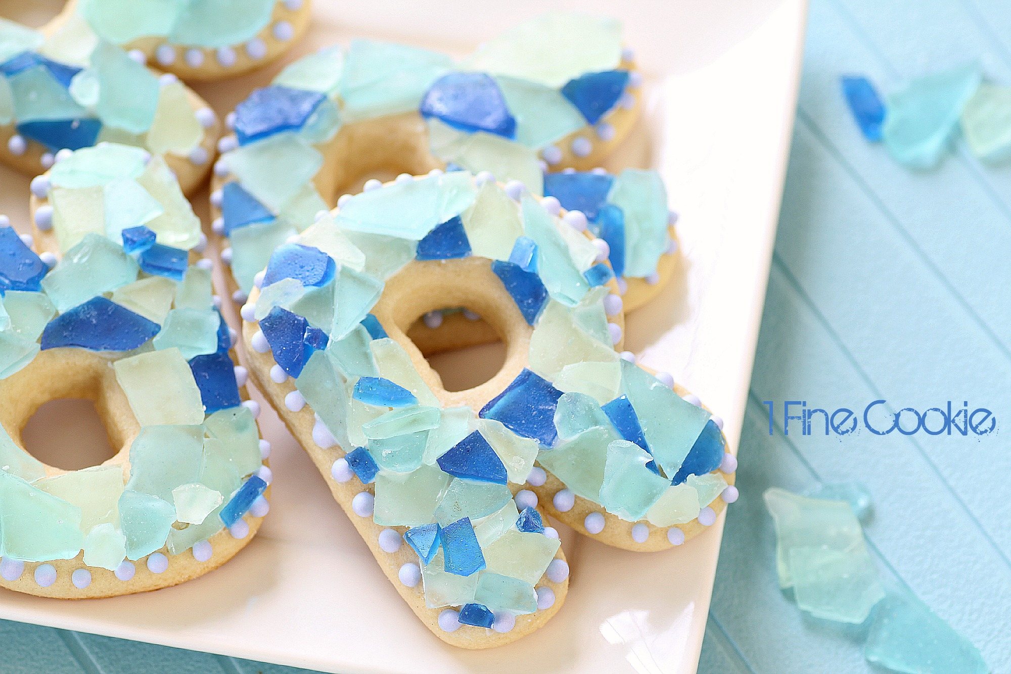 Sea Glass Candy Cookies 1 Fine Cookie