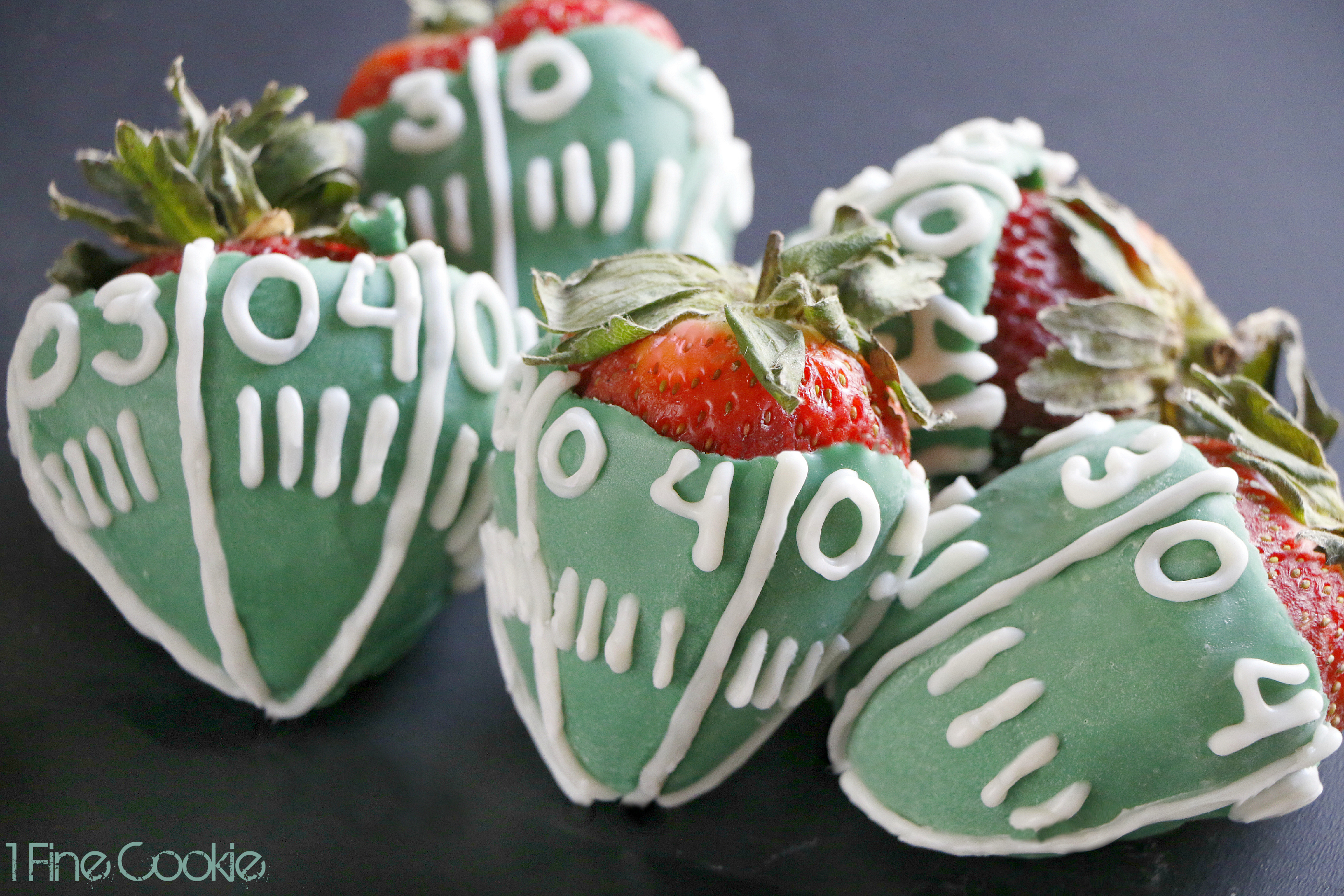 Super Bowl Snickers Stuffed Strawberries Plus A Giveaway