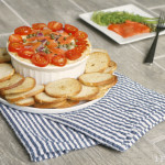Everything Bagel Dip, everything bagel dip, salmon, passover, hanukkah, chanukah, chanukkah, recipe, appetizer, easy, baked, kosher, food, jewish, new york, lox, smoked, cream cheese, video, quick,